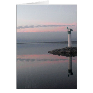 Lighthouse Reflections  Greeting Card