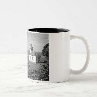 Lighthouse Rock Two-Tone Mug