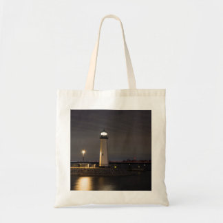 Lighthouse Rockwall Harbor Tote Bag