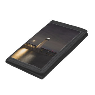 Lighthouse Rockwall Harbor Trifold Wallet