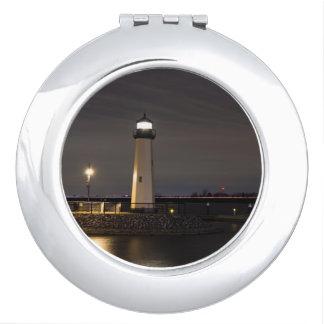 Lighthouse Rockwall Harbor Vanity Mirror