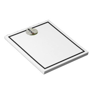 Lighthouse Scallop Shell Notepad