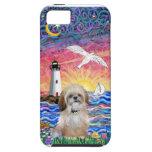 Lighthouse & Seagull - Shih Tzu (P) iPhone 5 Case