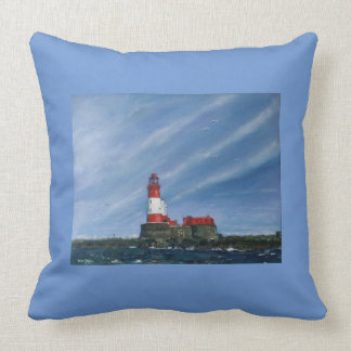 Lighthouse seascapes nautical  customise cushion