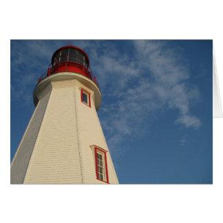 Lighthouse & Sky Card