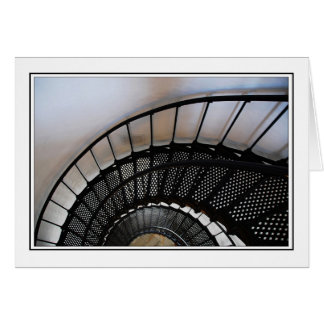 Lighthouse Staircase Card