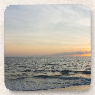 Lighthouse Sunrise Beverage Coaster