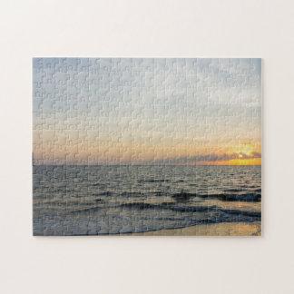 Lighthouse Sunrise Jigsaw Puzzle