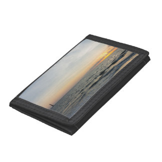 Lighthouse Sunrise Trifold Wallets