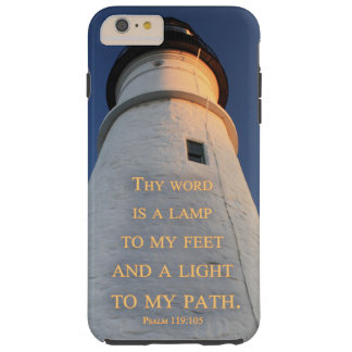 "Lighthouse ""Thy word is a lamp"" Christian case"