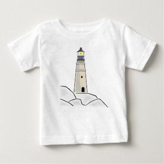 lighthouse tower design baby T-Shirt