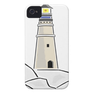lighthouse tower design iPhone 4 Case-Mate case