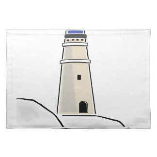 lighthouse tower design placemat