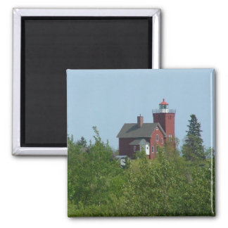 Lighthouse - Two Harbors Magnet