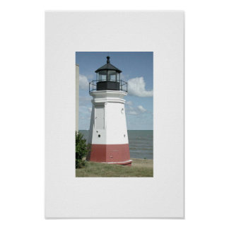 Lighthouse Vermilion, Ohio Poster