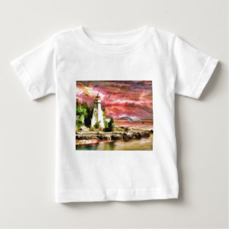 lighthouse water painting baby T-Shirt