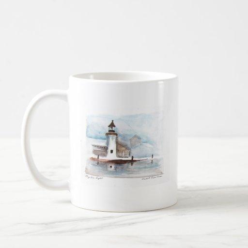 Lighthouse-window, mystic-lighthouse coffee mug