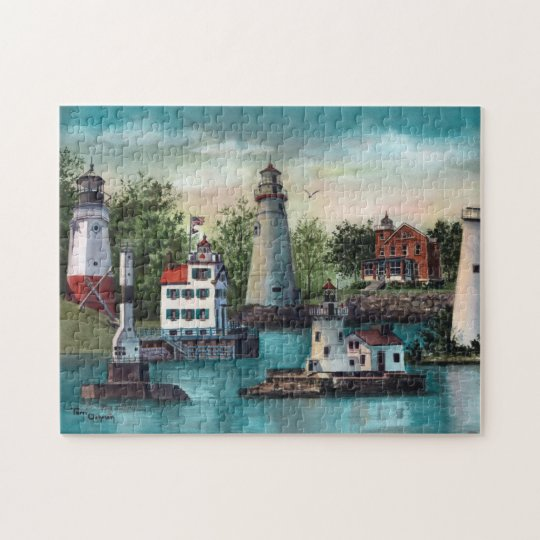 Lighthouses of Ohio Puzzle