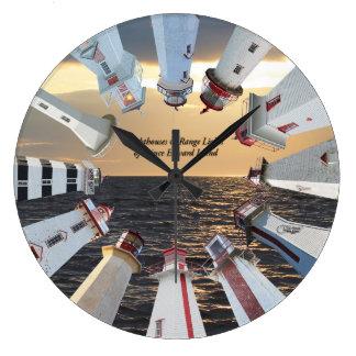 Lighthouses & Ranges of Prince Edward Island Clock