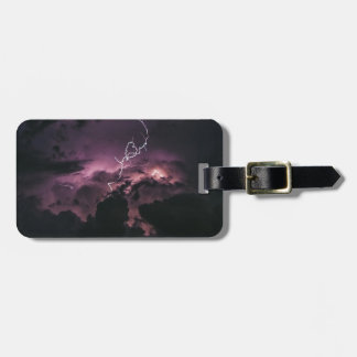 Lighting Bolt Luggage Tag