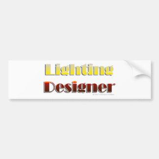 Lighting Designer (Text Only) Bumper Sticker