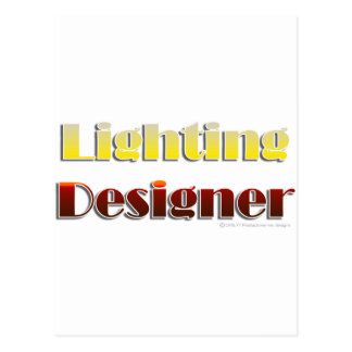 Lighting Designer (Text Only) Postcard