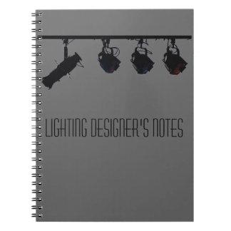Lighting Designer's Notes Notebooks