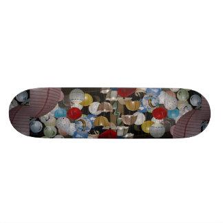 Lighting display, England Skate Board