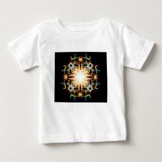 Lighting mandala baby T-Shirt