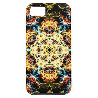 Lighting mandala iPhone 5 case