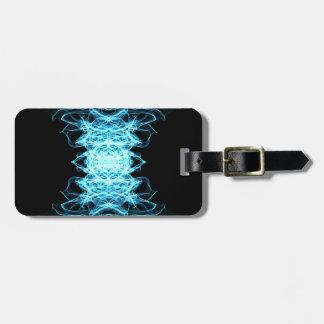 Lighting mandala luggage tag