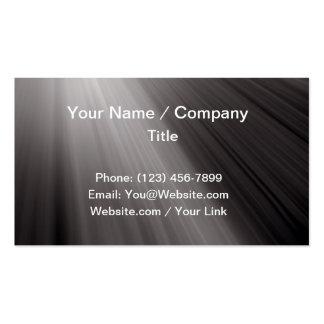 Lighting ray business card