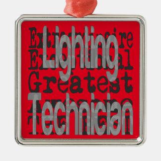 Lighting Technician Extraordinaire Metal Ornament
