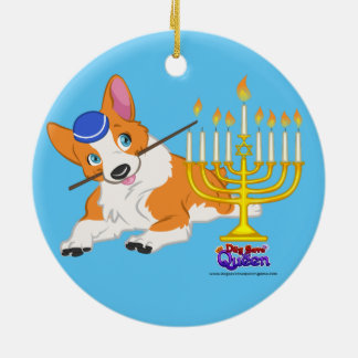 Lighting the Menorah- Ornament