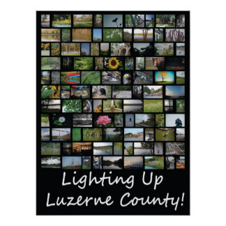 Lighting Up Luzerne County Poster