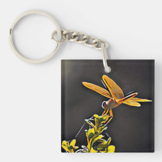 Lightkeeper Dragonfly Keychain