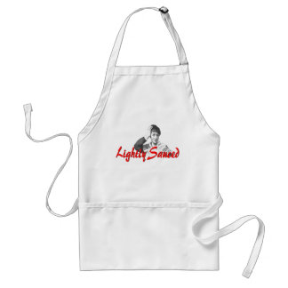 """Lightly Sauced"" Standard Apron"