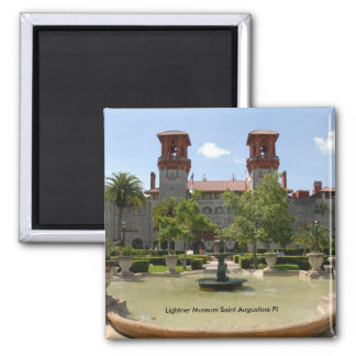 Lightner Museum Saint Augustine Fl Square Magnet