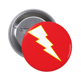 lightning pinback button