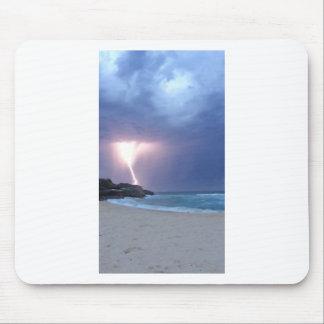 Lightning Beach Mouse Pad