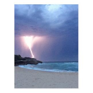 Lightning Beach Postcard