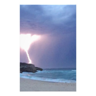 Lightning Beach Stationery