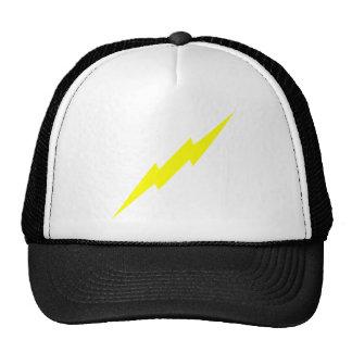 Lightning Bolt Mesh Hat