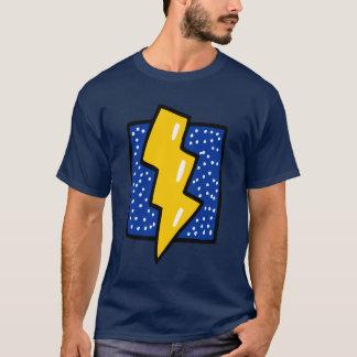 Lightning Bolt Cartoon T-Shirt