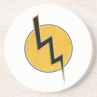 Lightning bolt coaster