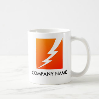 Lightning Bolt Customizable Mug