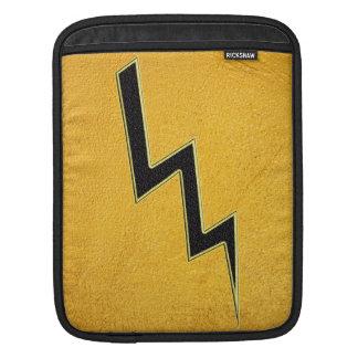 Lightning bolt iPad sleeve