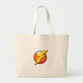 Lightning Bolt Jumbo Tote
