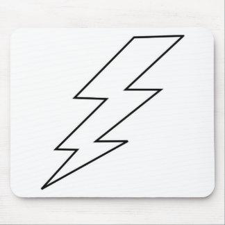 lightning bolt mouse pad