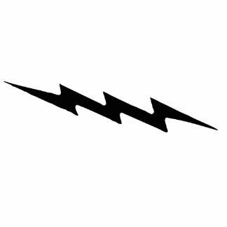 Lightning Bolt Photo Sculpture